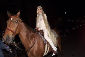 horse halloween party all of heidi klum u0027s halloween costumes over the years glamour