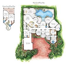 10 villa interior design plans with architecture drawing floor