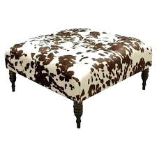 Hide A Bed Ottoman Cool Cow Hide Ottoman Cowhide Ottoman Cube Stool Hide A Bed