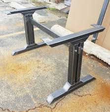 stylish dining table legs model tus08b industrial kitchen table