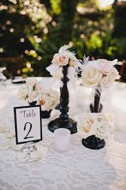 Black Table Centerpieces by 110 Best Wedding Love In Black U0026 Pink Images On Pinterest
