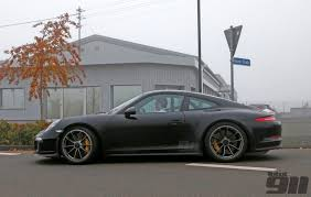 porsche ducktail exclusive porsche 911 r spotted out testing total 911