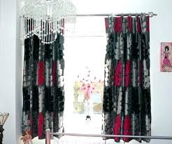 black and red curtains for bedroom red black and white bedroom black and red curtains for living room bedroom red curtains red
