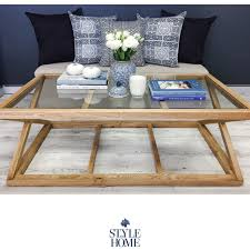 cross leg coffee table joshua coastal cross leg coffee table style my home