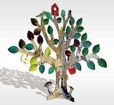 design for toys educational tree 3d puzzle for kidz