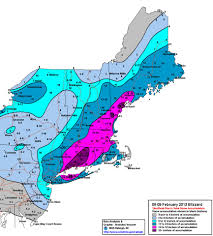Weather Map New England by More Images From The New England Storm Earth Matters Blogs