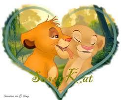 lion king couples images simba nala wallpaper background