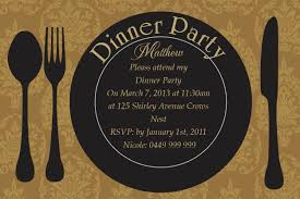 invitation template for birthday with dinner dinner party invitations templates besik eighty3 co