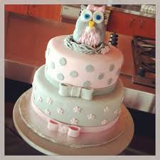 owl baby shower cake pink and grey owl baby shower cake party xyz