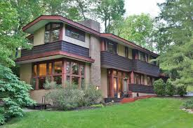 Frank Lloyd Wright Inspired Home Plans by Usonian Home In Ohio Wants 490k Curbed