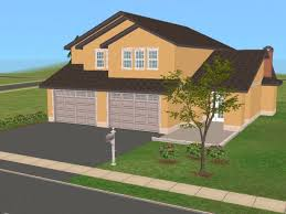 sims 2 floor plans mod the sims 25 maple street 2 story family home based on real
