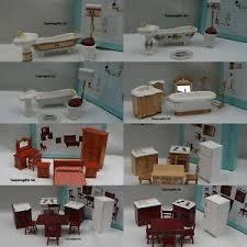 dolls house kitchen furniture alberon dolls house bathroom bedroom kitchen furniture ebay
