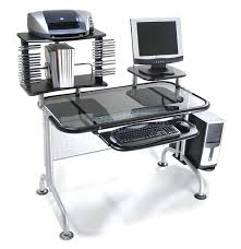 Black Glass Computer Desk 10 Of The Best Glass Computer Desk Ideas To Improve Your Work And