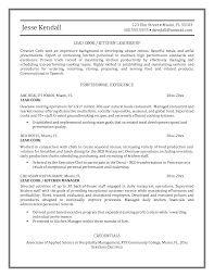 Line Cook Resumes Kitchen Hand Cover Letter Image Collections Cover Letter Ideas