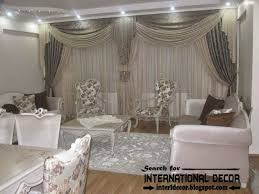 Curtain Style Drapery Designs For Living Room Contemporary Grey Curtain Designs