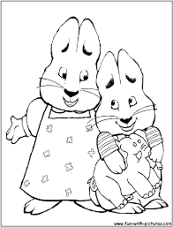 28 max and ruby coloring pages max and ruby coloring pages