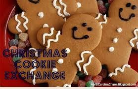 carolina charm christmas cookie exchange