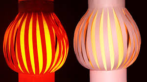 How To Make Paper Light Lanterns - paper l how to make a hanging paper lanterns light