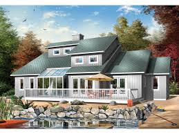 topsail waterfront home plan 032d 0233 house plans and more