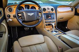 bentley steering wheel at night 2006 bentley continental flying spur stock 038127 for sale near