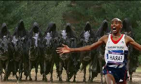 Meme Mo - mo farah running from the nazgul mo farah running away from things