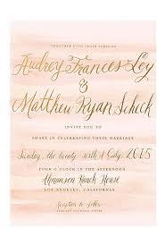 foil wedding invitations gold foil wedding invitations brides
