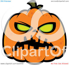 spooky halloween clipart royalty free rf clipart illustration of a spooky green eyed