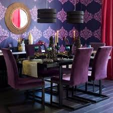 The  Best Purple Chair Ideas On Pinterest Purple Velvet - Purple dining room
