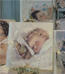 baby photo albums vintage memories linen photo album with