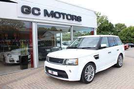 white land rover black rims 2011 range rover sport hse with autobiography bodykit walk around