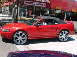 mustang 22 inch rims edge 1999 2004 mustang owners with 20 wheels mustang
