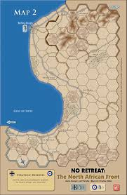 Map Of Benghazi Gmt Games No Retreat 2 The North African Front Deluxe Edition