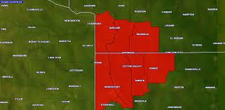 Texarkana Weather Radar Map Arklatex Under Tornado Watch Until 9 P M Texarkana Today