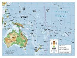 Thailand On World Map by Maps Of Australia And Oceania And Oceanian Countries Political