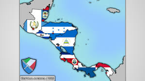 America Central Map by Flag Map Of Central America Speedart Youtube