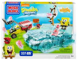 mega bloks spongebob squarepants invisible boatmobile rescue 5