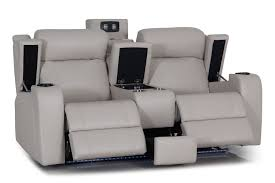 Recliner Sofa Marina 2 Seater Leather Recliner Sofa By Synargy Harvey Norman