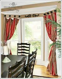 Drapery Knobs Bay Window Treatments That Won U0027t Break Your Budget