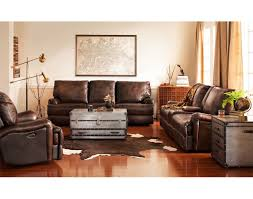 American Living Room Furniture The Kingsway Collection Brown American Signature Furniture