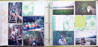 vacation photo album a vacation scrapbook with project papercipping 218