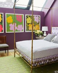 Purple And Green Home Decor by Paint Color Retro Interior Home Decor