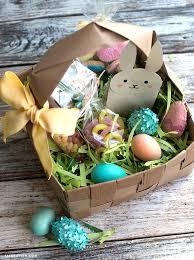 Diy Easter Basket Upcycled Large Diy Easter Basket Lia Griffith