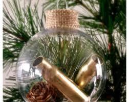 gun ornament etsy