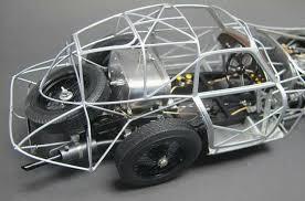 1938 alfa romeo 8c 2900 b rolling chassis diecast model legacy