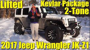 jeep kevlar kevlar 2 tone package amazing lifted custom 2017 jeep wrangler