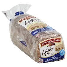 pepperidge farm light bread pepperidge farm bread 100 whole wheat light style publix com
