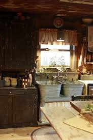Rustic Kitchen Sink 40 Rustic Kitchen Designs To Bring Country Tubs Sinks And