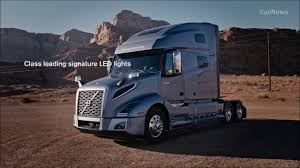 latest volvo truck volvo vnl truck 2018 interior exterior drive carnews youtube