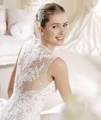 brautkleider la sposa hochzeit romantische liebsten und spitze zurück la sposa