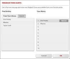 ringback tones for android add remove ringback tone alerts verizon wireless